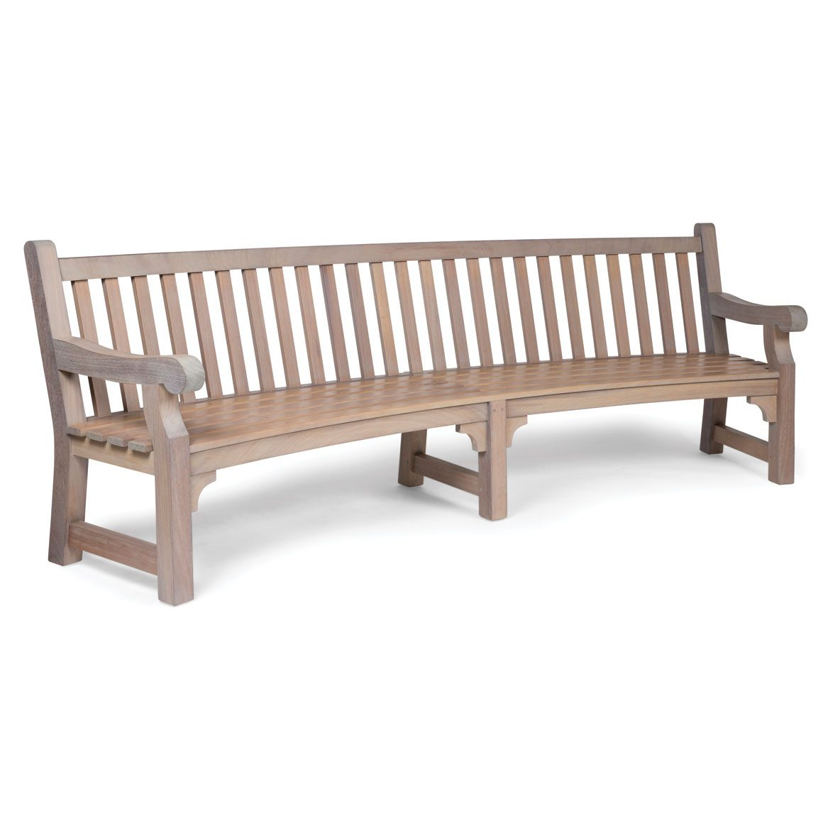Amazing Curved Garden Bench Gmtry Best Dining Table And Chair Ideas Images Gmtryco
