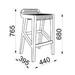 Minima-Radius-Kitchen-Stool-Diagram