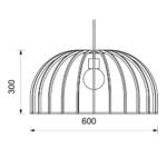 dome-light-pendant-dimensions-600